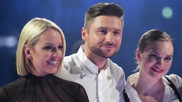 Певец Сергей Лазарев после окончания второго полуфинала международного конкурса Евровидение-2019.