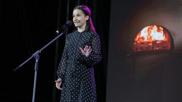Участница конкурса чтецов Живая классика Екатерина Жигульская
