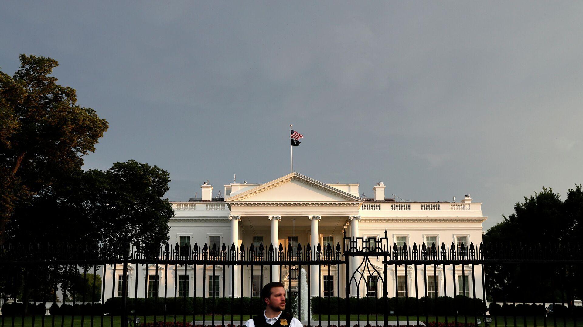 Белый дом в Вашингтоне - РИА Новости, 1920, 20.01.2021