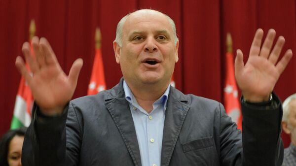 Кандидат в президенты Республики Абхазия Аслан Бжания