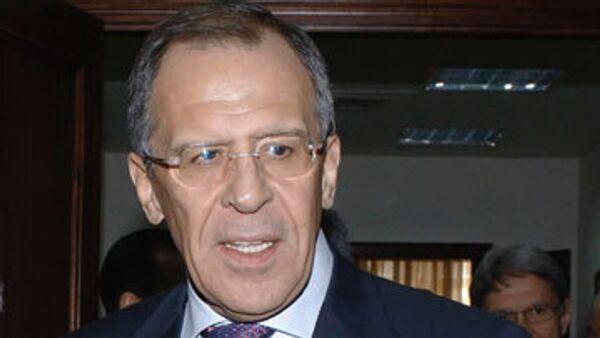 Присоединение России к ВТО остается стратегической целью - Лавров