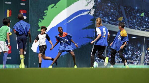 Седьмой сезон Международной детской социальной программы Футбол для дружбы