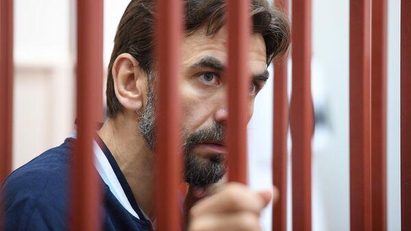 Бывший министр РФ по связям с Открытым правительством Михаил Абызов в Басманном суде. 23 мая 2019