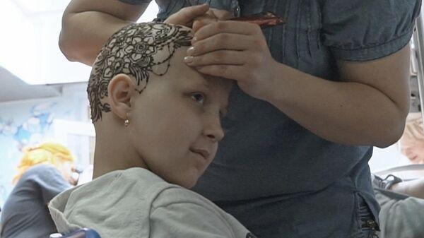Киевлянка устраивает бесплатные дни красоты для онкобольных детей и их мам