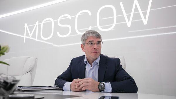 Руководитель департамента предпринимательства и инновационного развития города Москвы Алексей Фурсин