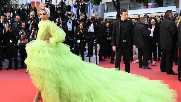 Актриса и модель Дипика Падукон на красной дорожке в рамках 72-го Каннского международного кинофестиваля