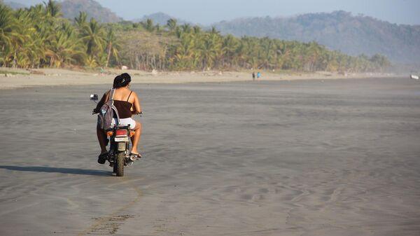 Пляж в Коста-Рике