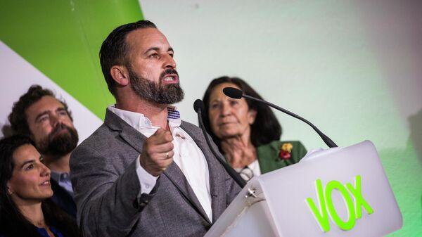 Лидер крайне правой испанской партии Вокс Сантьяго Абаскаль