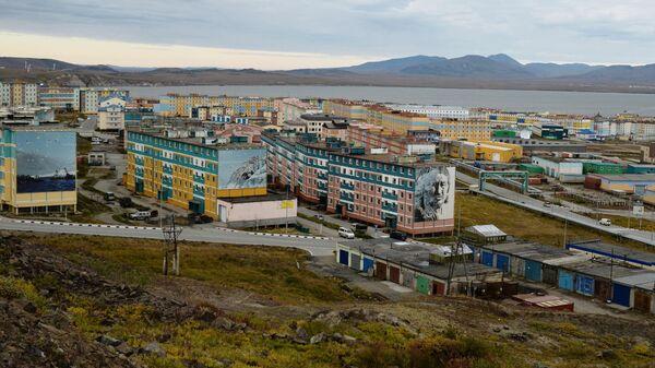 Вид города Анадыря