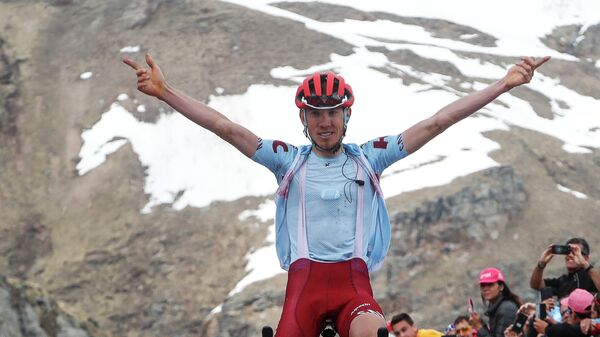 Ильнур Закарин на Джиро д'Италия-2019