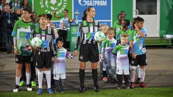 Международная детская социальная программа ПАО 2Газпром Футбол для дружбы