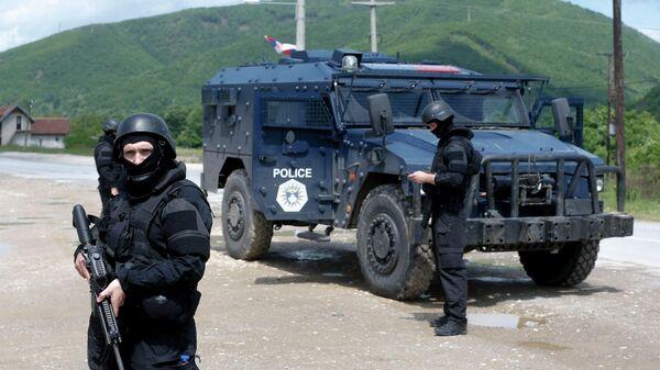 Операция спецподразделений косовской полиции на северо-западе Косово. 28 мая 2019