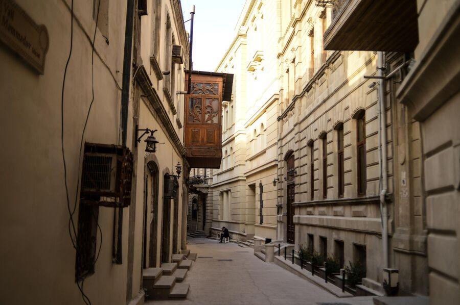Ичери-шехер (Старый город) в Баку