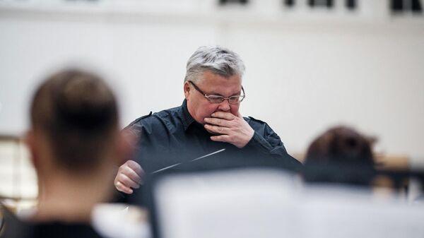 Скрипач, дирижер, художественный руководитель Петербург-Концерта и главный дирижер Симфонического оркестра Санкт-Петербурга Сергей Стадлер
