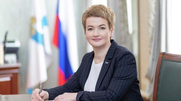 Председатель Архангельского областного Собрания депутатов Екатерина Прокопьева