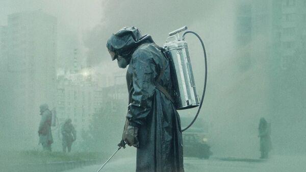 Кадр из мини-сериала Чернобыль
