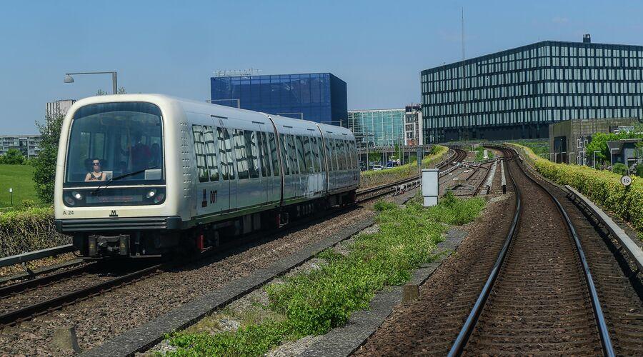 Поезд метро Копенгагена
