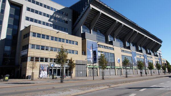 Футбольный стадион Арена Паркен в Копенгагене