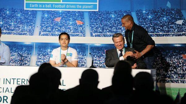 Форум Футбол для дружбы в Мадриде объединил экспертов детского футбола