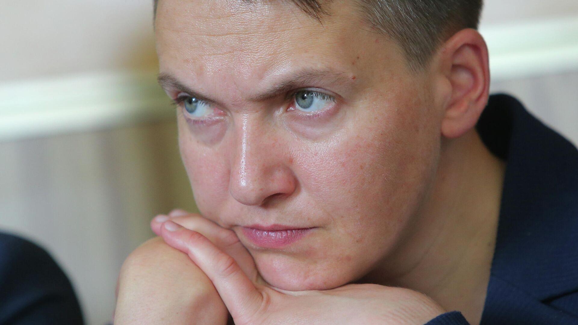 Надежда Савченко в Броварском районном суде - РИА Новости, 1920, 17.09.2021