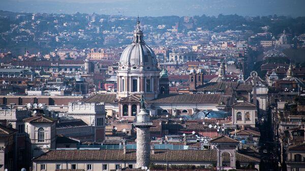 Вид города Рима