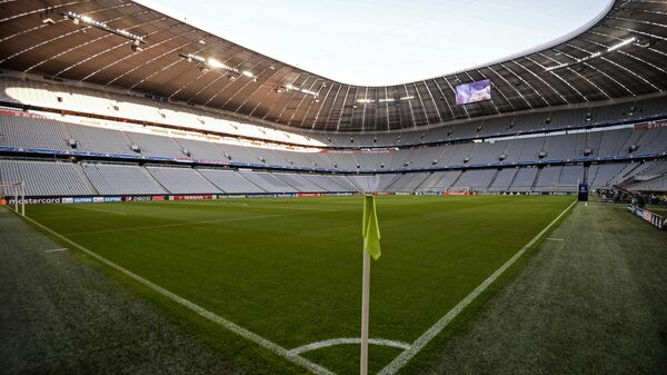 Стадион Альянс Арена в Мюнхене