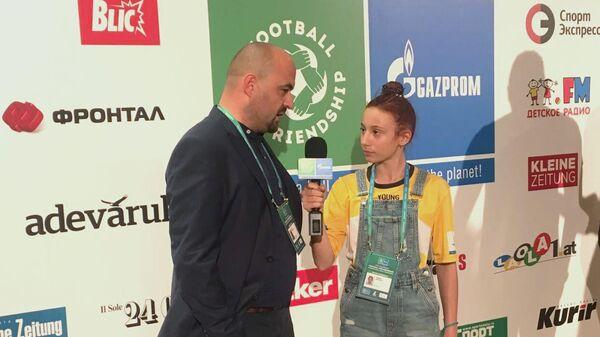 Участница седьмого сезона Международной детской программы Футбол для дружбы