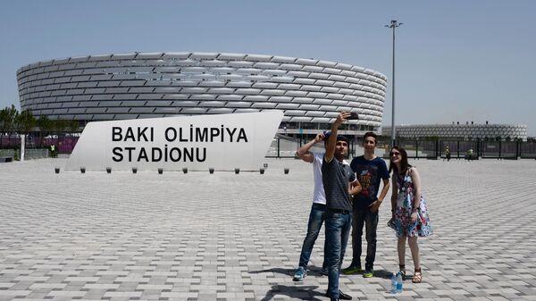 Олимпийский стадион в Баку