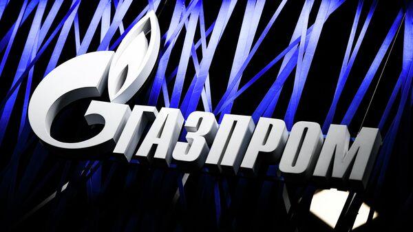 Логотип энергетической компании Газпром