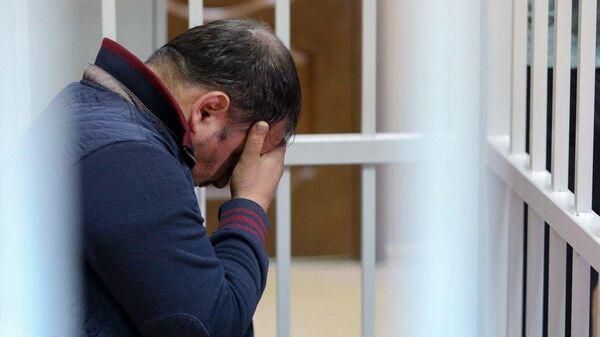 Избрание меры пресечения в Красногорском городском суде Московской области Сергею Ходжаяну подозреваемого в убийстве ветерана боевых действий Никиты Белянкина. 5 июня 2019
