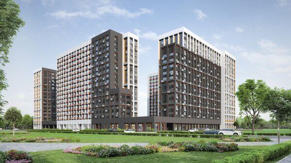 Проект дома по программе реновации на Базовской улице в Москве