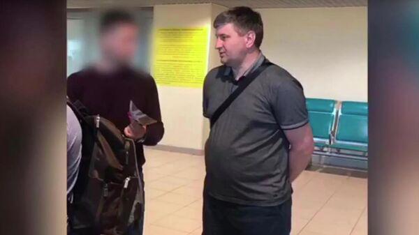 Задержание министра лесного комплекса Иркутской области Сергея Шеверды в аэропорту Шереметьево