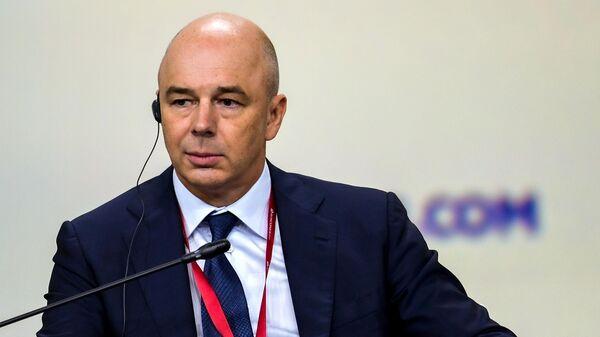 Первый заместитель председателя правительства РФ – министр финансов РФ Антон Силуанов
