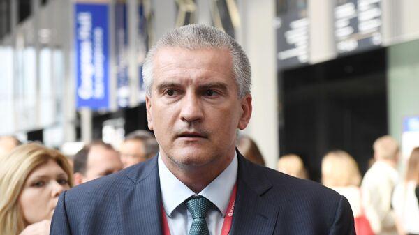 Глава Республики Крым Сергей Аксёнов на Петербургском международном экономическом форуме 2019