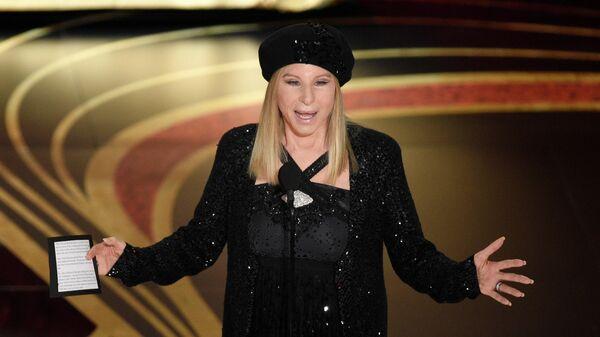 Барбра Стрейзанд на церемонии вручения Оскара