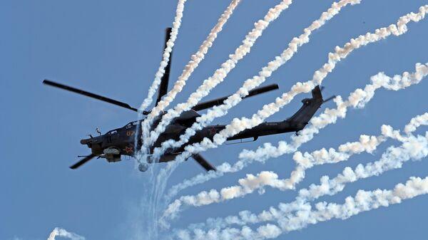 Ударный вертолет Ми-28Н Ночной охотник