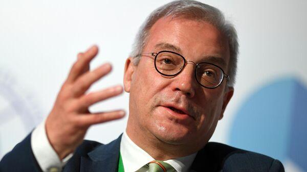 Заместитель министра иностранных дел РФ Александр Грушко во время международного форума Примаковские чтения