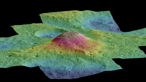 Загадочная пирамида на карликовой планете Церера оказалась экзотическим грязевым вулканом
