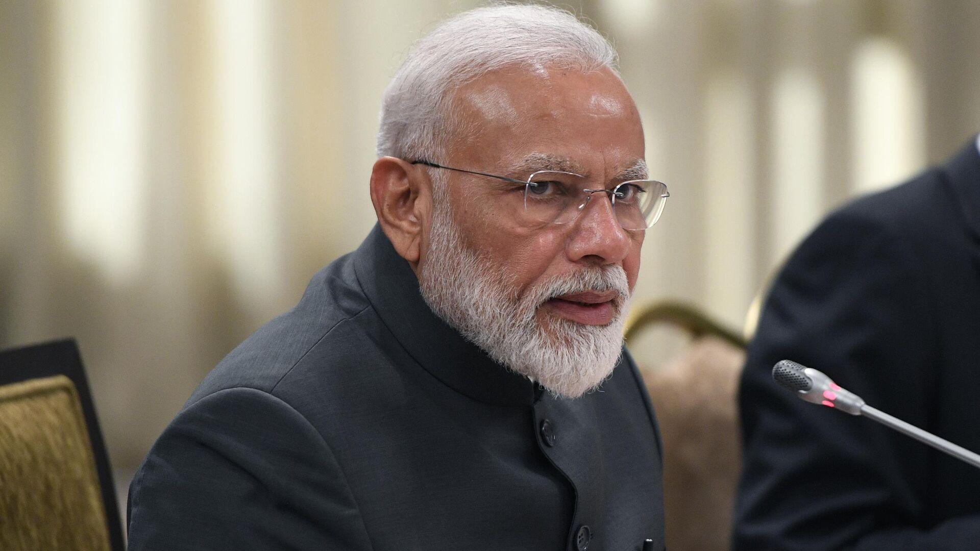 Премьер-министр Индии Нарендра Моди - РИА Новости, 1920, 26.08.2019