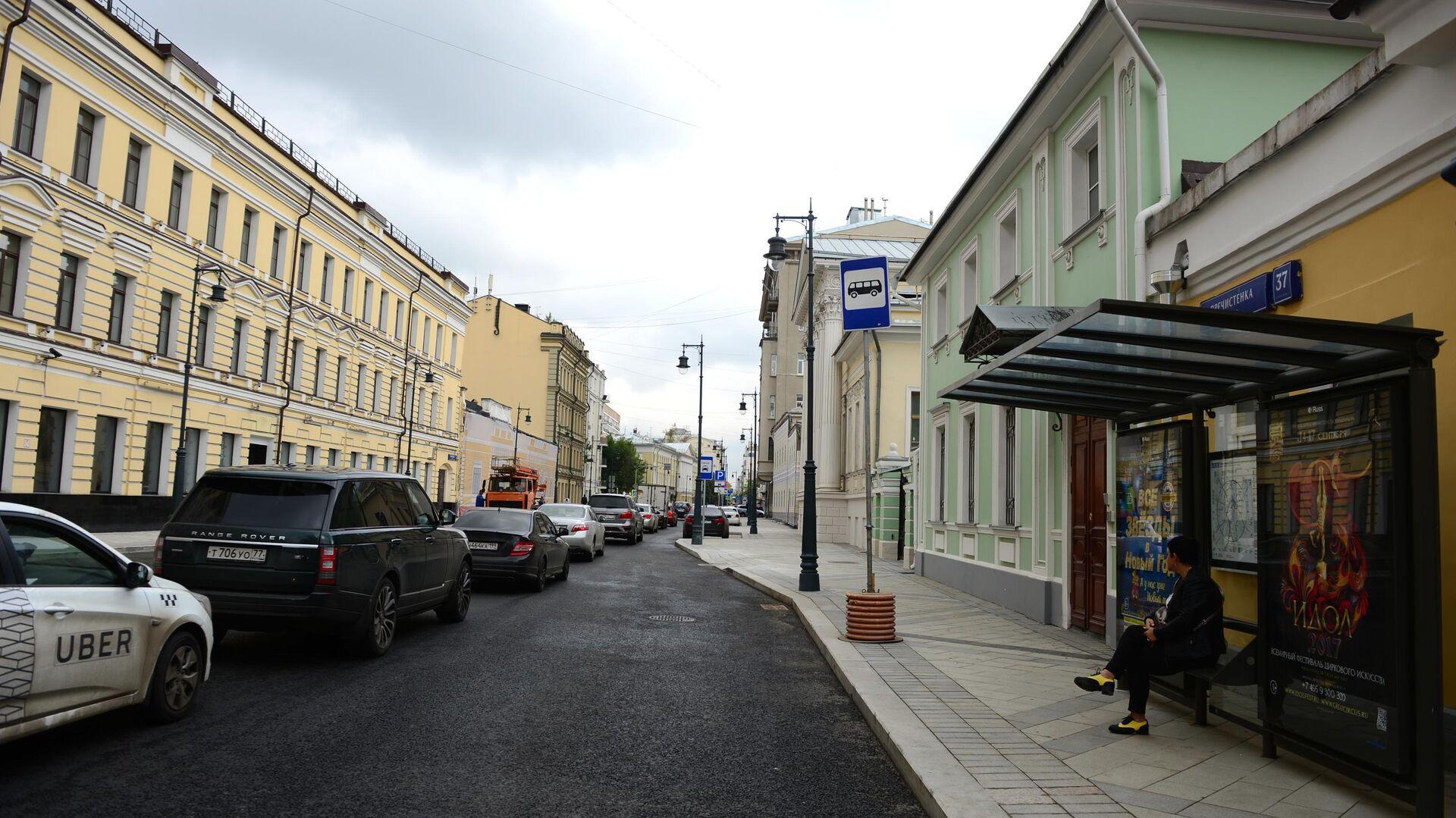 Реконструированные улицы в Москве - РИА Новости, 1920, 28.09.2021