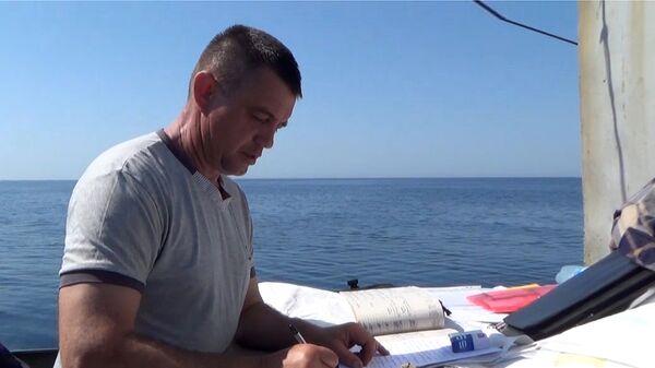 Капитан украинского рыболовецкого судна ЯМК-0041 Виктор Новицкий, задержанного ФСБ РФ в акватории Черного моря. Архивное фото