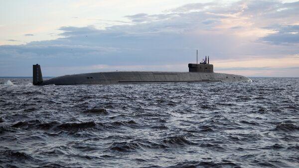Атомная подводная лодка стратегического назначения Князь Владимир проекта 955А