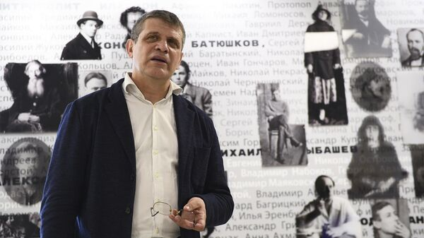 Директор Государственного музея истории российской литературы имени В. И. Даля Дмитрий Бак