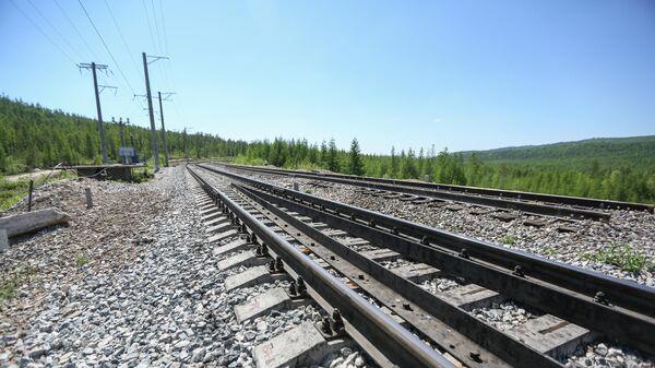 Реконструкция железнодорожного моста через реку Кованта в рамках строительства второй очереди Байкало-Амурской магистрали