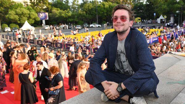 Актер Александр Петров на кинофестивале Кинотавр в Сочи