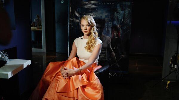 Актриса Светлана Ходченкова перед премьерой фильма Росомаха: Бессмертный