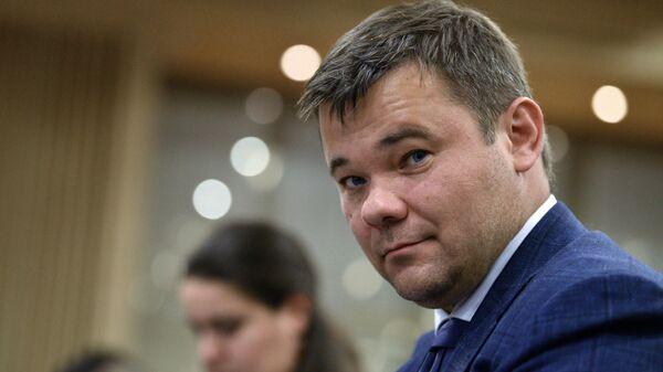 Глава администрации президента Украины Андрей Богдан