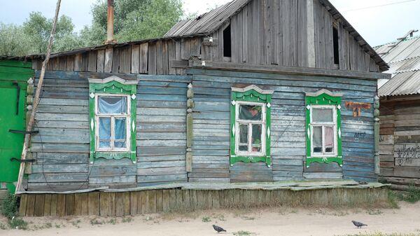 Один из цыганских домов