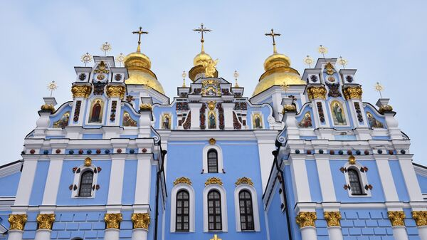 Михайловский Златоверхий собор - действующий кафедральный собор новой объединенной церкви Украины