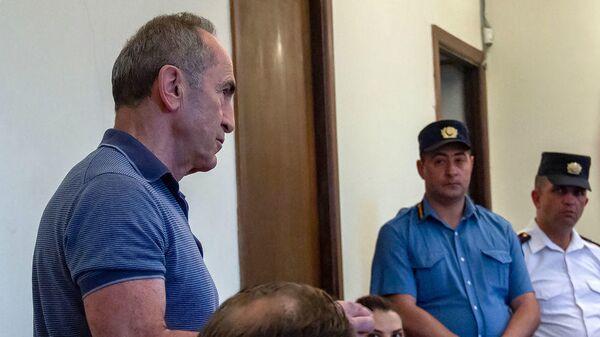 Роберт Кочарян в суде